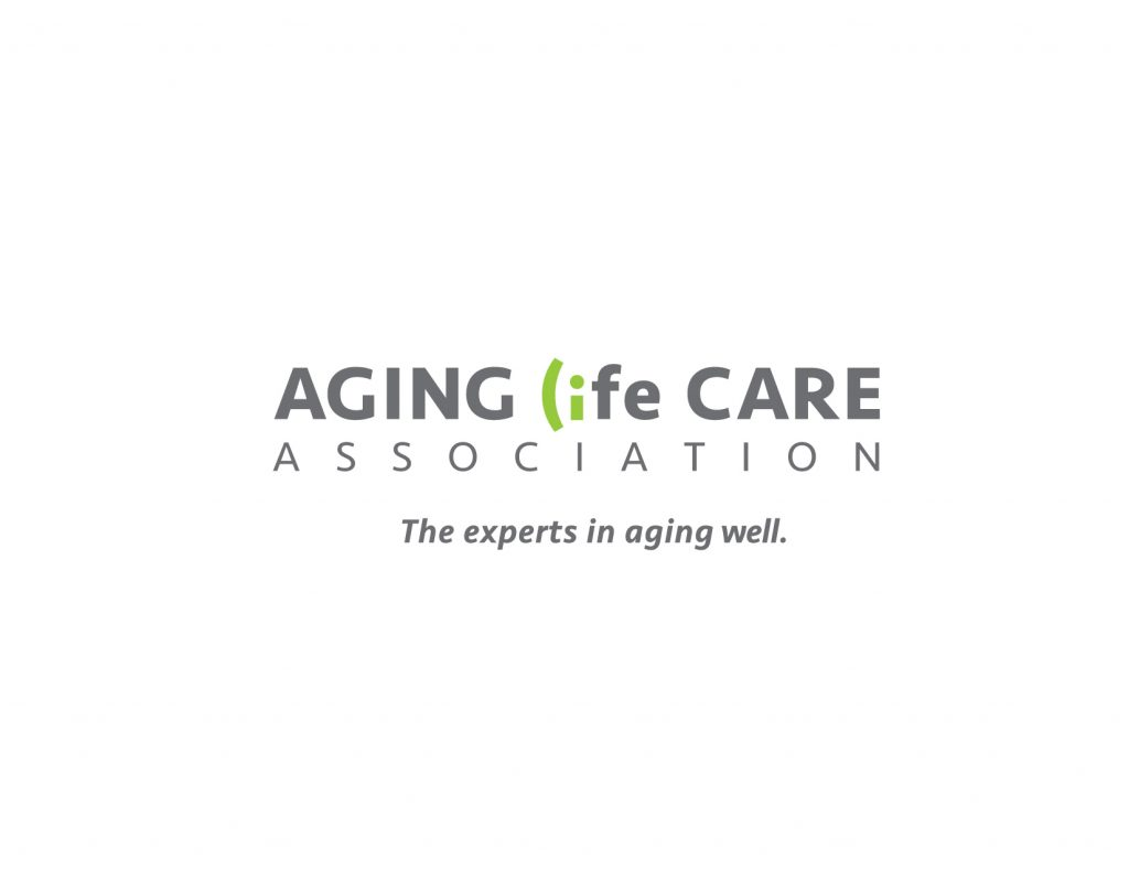 "Gallery Image: Aging Life Care Association logo with tagline, ""The experts at aging well."""