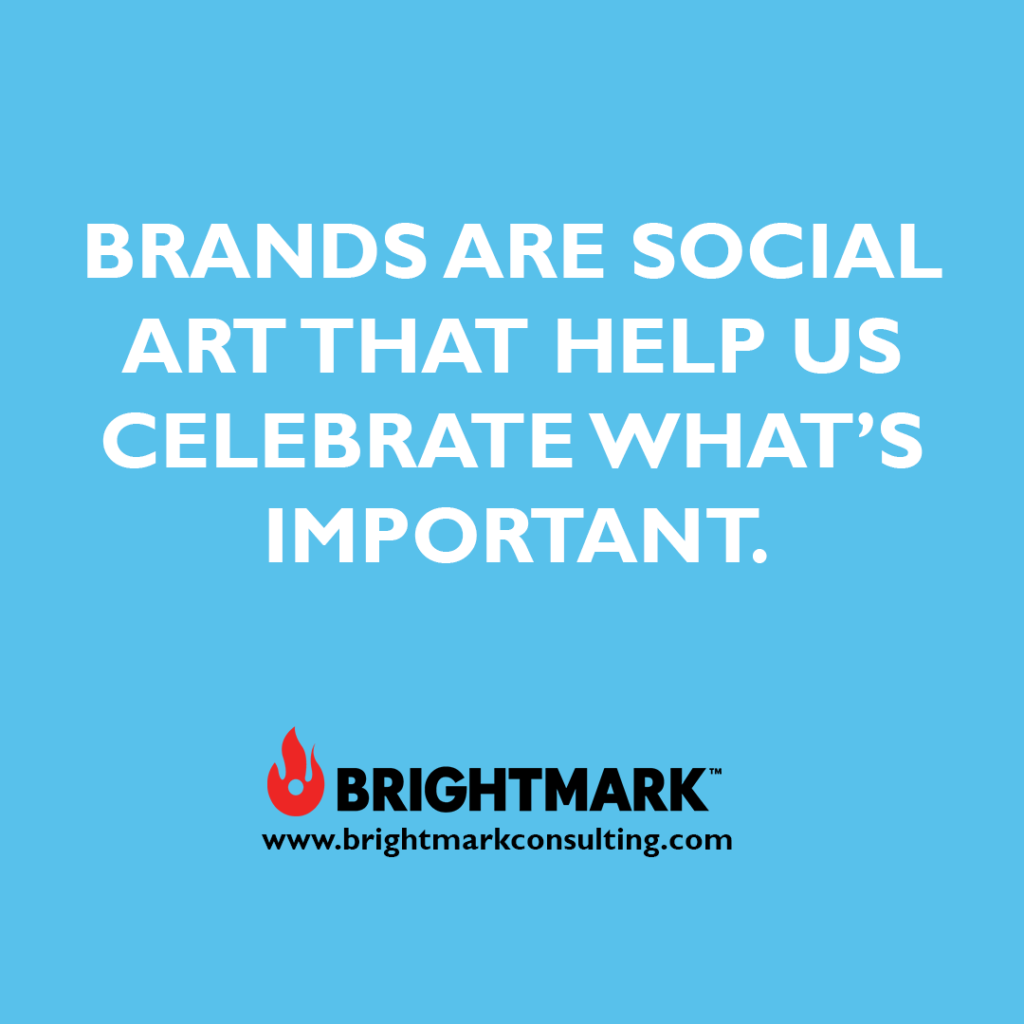 Brand graphics you can use: Brands are social art that help use celebrate what's important.