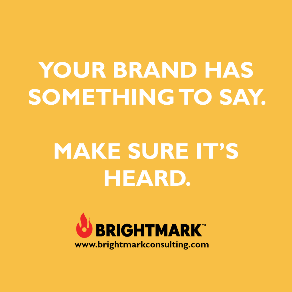 Brand graphics you can use: Your brand has something to say. Make sure it's heard.