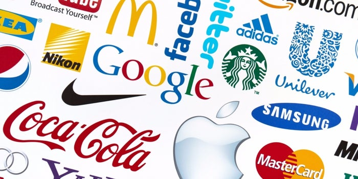 Image of Branded Logos of Companies
